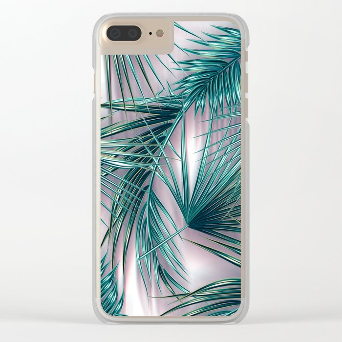 tropics vector Clear iPhone Case