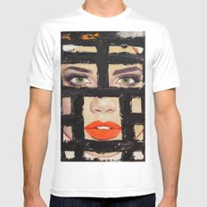 Face15 Mens Fitted Tee MEDIUM White