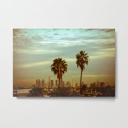 Twin Palms  Metal Print