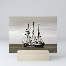 SAILING SHIP Mini Art Print
