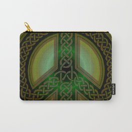 Celtic Knot of Peace Carry-All Pouch