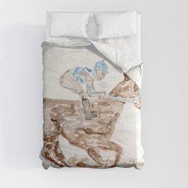 Race Horse, Derby, Kentucky, Comforters