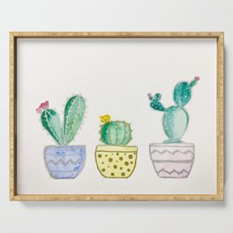 Tri Cactii Serving Tray