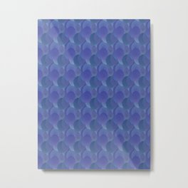 Thinking of Bluebells Metal Print