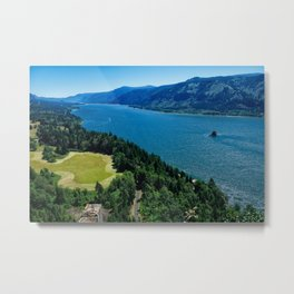 Cape Horn View Metal Print