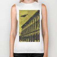 milan Biker Tanks featuring Milan 1 by Anand Brai