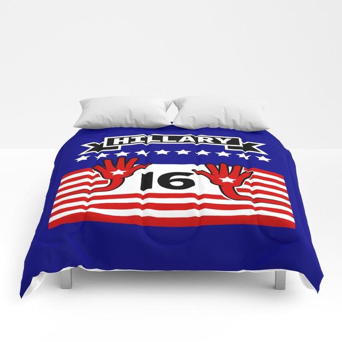 Hillary 2016 Comforters