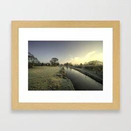 Ayshford Winter  Framed Art Print