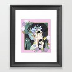 Lunar Moth Framed Art Print