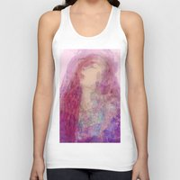 goddess Tank Tops featuring Goddess  by Katekima