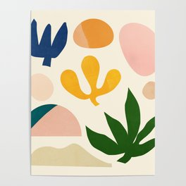Abstraction_Floral_001 Poster
