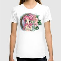 shabby chic T-shirts featuring Shabby Chic Girl by Sollamy