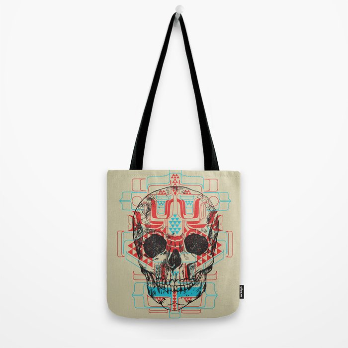 Skull Native Tote Bag