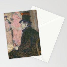 Henri de Toulouse-Lautrec, Maxime Dethomas, 1896 Stationery Cards