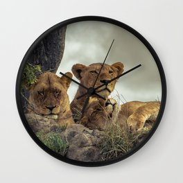 The Protector Wall Clock