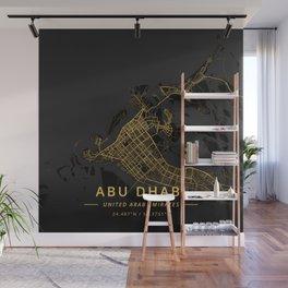Abu Dhabi, United Arab Emirates - Gold Wall Mural