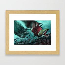 Sockeye Salmon Framed Art Print