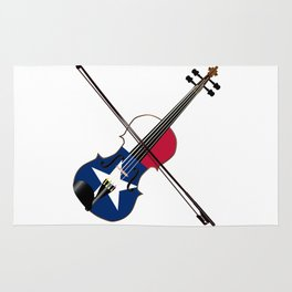 Texas Fiddle Rug