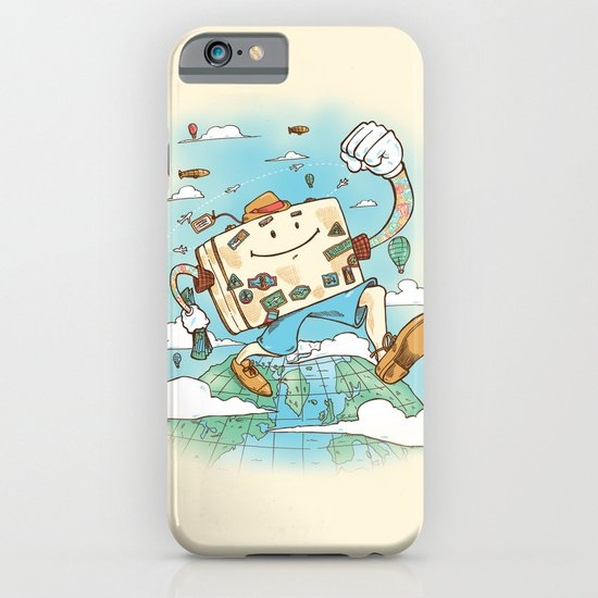 Mr Globetrotter iPhone & iPod Case