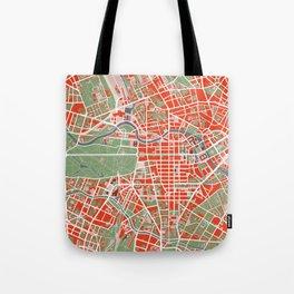 Berlin city map classic Tote Bag