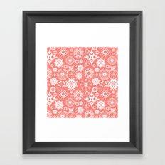 Dia en rosa Framed Art Print