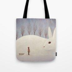 Winter morning Tote Bag