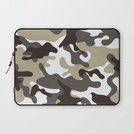 Urban Camo Camouflage Pattern Laptop Sleeve