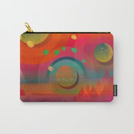"""Sci-fi Pop Landscape"" Carry-All Pouch"