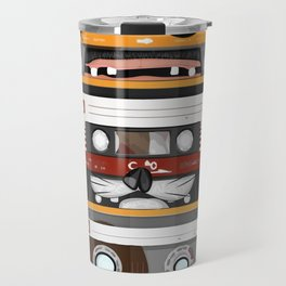 The cassette tape Travel Mug