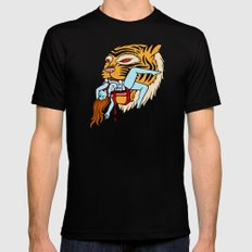 Tiger Mens Fitted Tee X-LARGE Black