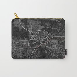 Kabul, Afghanistan City Map - Oriental  Carry-All Pouch
