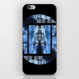 Tree Man Night photography iPhone Skin