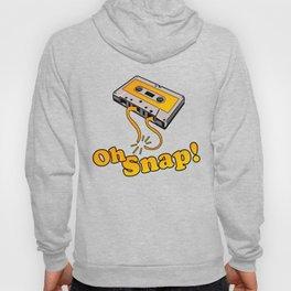 Oh Snap 80's Cassette Tape Hoody