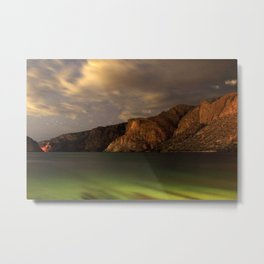 Canyon Night Metal Print