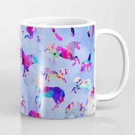 Watercolor Unicorns Coffee Mug