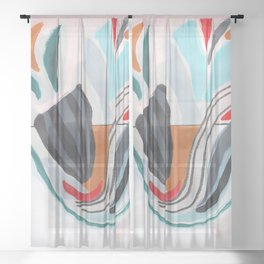 All Flawed Sheer Curtain