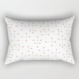 Atomic Era Dots 39 Rectangular Pillow