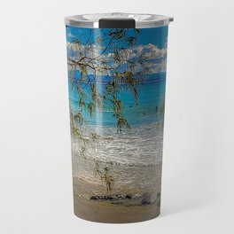 Byron Bays' Blue Surf Travel Mug