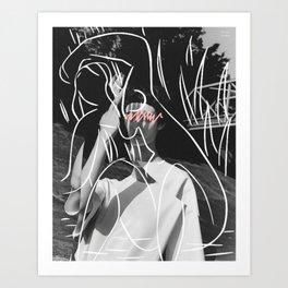 L'intérieur d'une femme Art Print