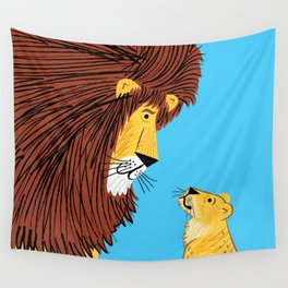 Listen To The Lion Wall Tapestry
