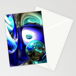 Jewel of the Nile Abstract Stationery Cards