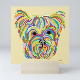Yorkshire Terrier - YORKIE! Mini Art Print