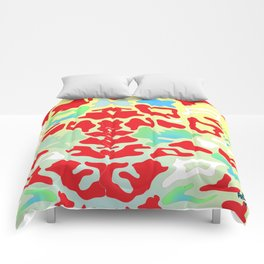 Abstract Organic 1 by Anthea Missy Comforters