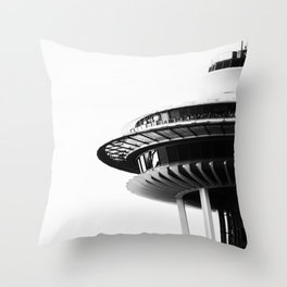 Seattle Love Throw Pillow