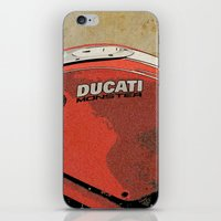 ducati iPhone & iPod Skins featuring Ducati Monster by Larsson Stevensem