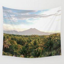 Mighty Volcano Wall Tapestry
