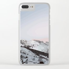 beautiful sunrise in Andorra ... Clear iPhone Case