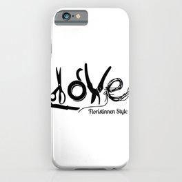 Florist Love 2 iPhone Case
