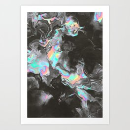SPACE & TIME Art Print