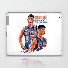 Jeremy Lin: New York, New York, Big City of Dreams. Laptop & iPad Skin